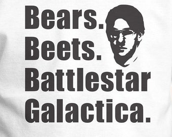"The Office ""Bears, Beets, Battlestar Galactica""  Kids Shirt 2T-XL"