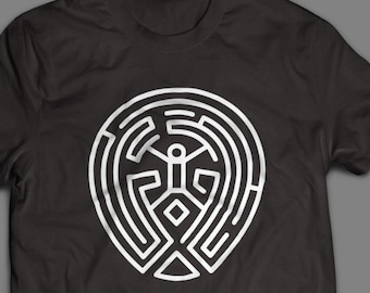 Westworld Maze Inspired TV shirt Host Puzzle