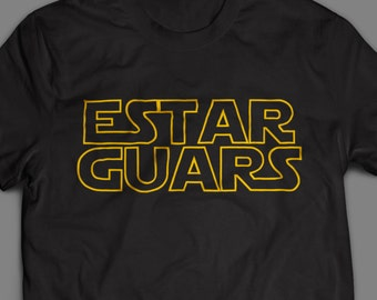 Estar Guars Funny Shirt Spanish 2T-XXL Available Star Wars