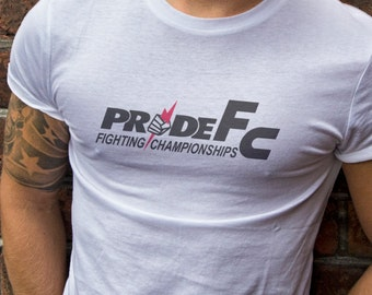 PrideFC T-Shirts S-2XL  Available Customization Available Old School MMA