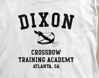 """The Walking Dead """"Dixon Crossbow Training Academy""""  Women's Shirt S-2XL Available TWD"""