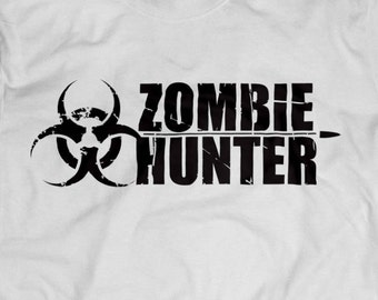 Danger Zombie Hunter Shirt S-4XL and Long Sleeve Available TWD The Walking Dead Zombies