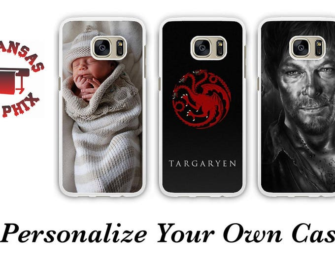 Featured listing image: Customized Galaxy & iPhone Cases Print Any Logo, Picture or Design Galaxy S7, S6, S7 Edge, S8 , Iphone 6/6s +, Iphone 7 and Iphone 7+ Plus