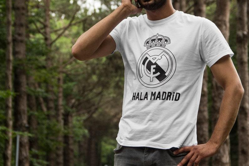 7ef125917 Real Madrid Hala Madrid T-Shirts S-4XL Anbd Long Sleeve | Etsy