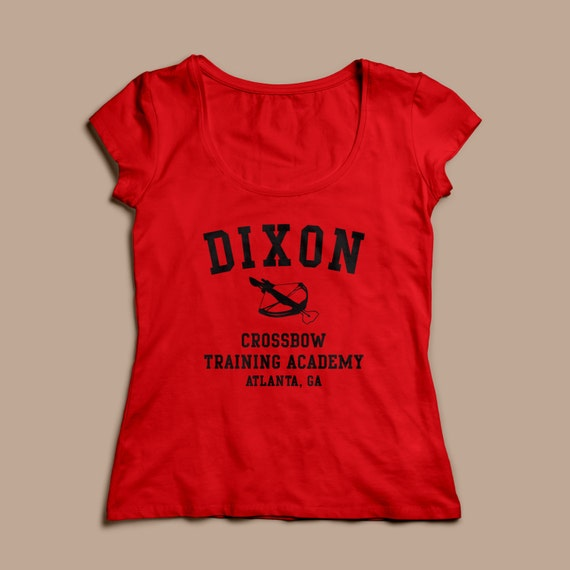 Dixon Crossbow Training Inspired by Walking Dead Printed T-Shirt