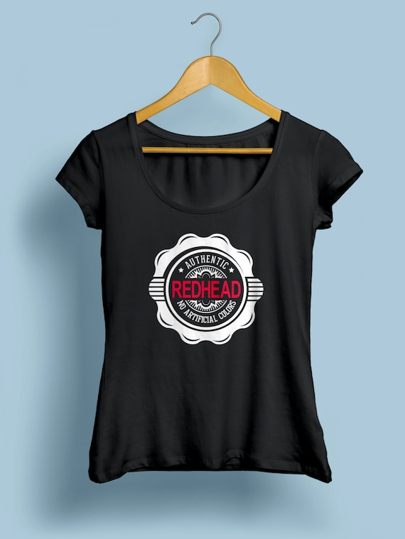 """Redhead """"Authentic Redhead"""" Womens Shirt S-XXL Available"""