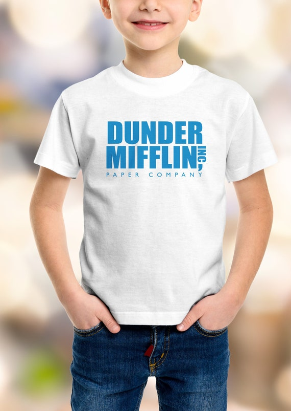 "The Office ""Dunder Mifflin Inc""  Youth Shirt 2T-XL Available"