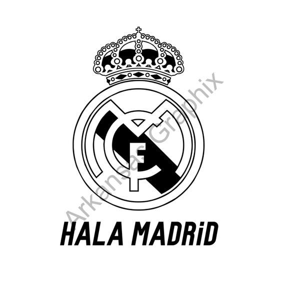 9b1f6250c Real Madrid Hala Madrid T Shirts S 4xl Anbd Lange Armel Etsy