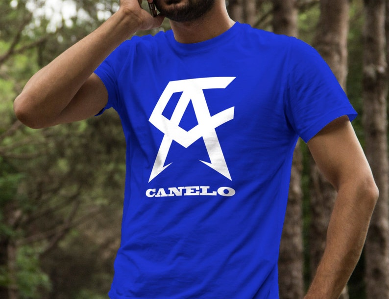 24592fbd109a Saul Canelo Alvarez Boxing Shirt S-4XL And Long Sleeve image 0 ...