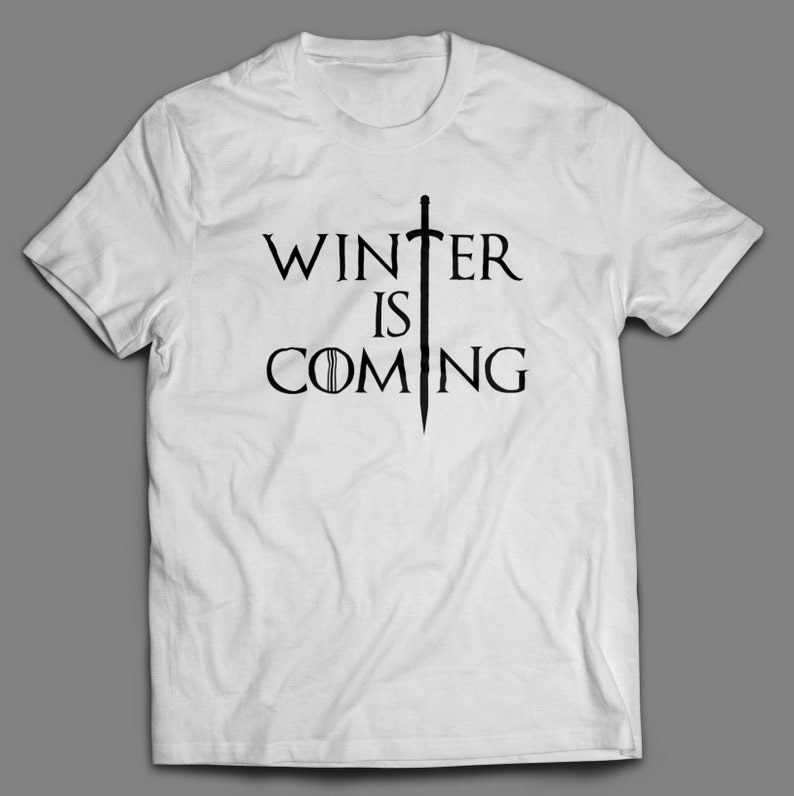14efa44e149d4b Winter is Coming Game of Thrones T-Shirt S-4XL and Long Sleeve
