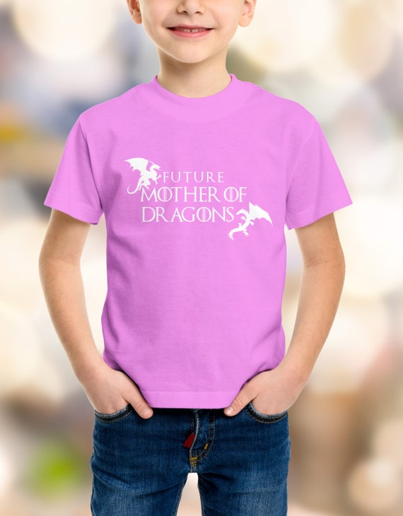Future Mother Of Dragons Game of Thrones Youth Shirts XS-XL Available