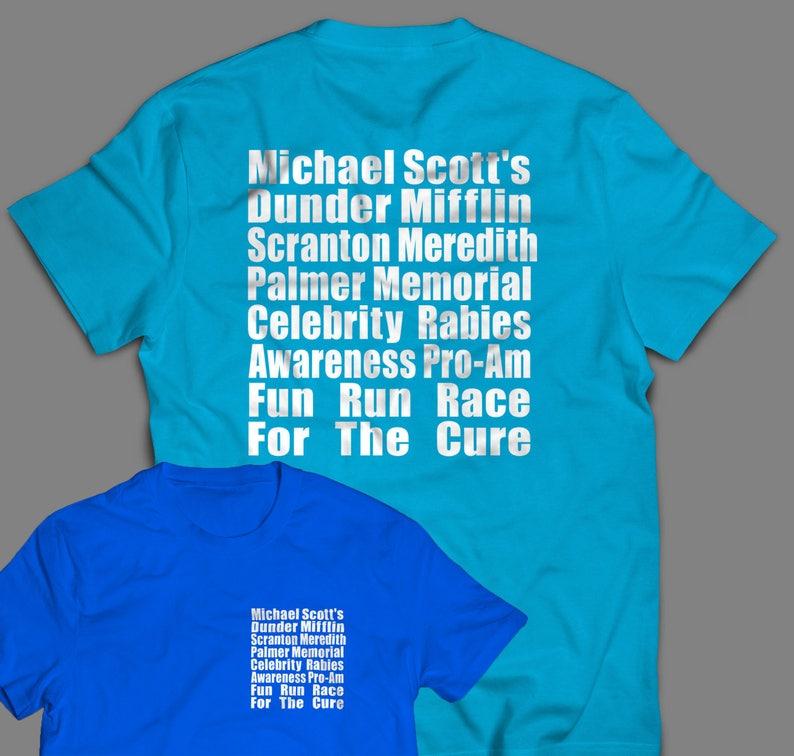 The Office Meredith Rabies Awareness Fun Run Shirt image 0