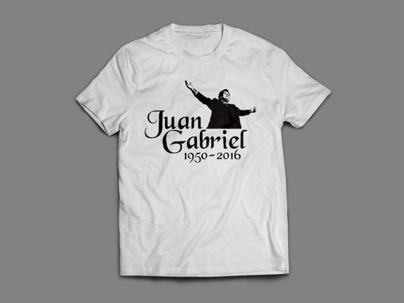 Juan Gabriel Tribute Shirt S-4XL And Long Sleeve Available 1950-2016 Mexican Singer