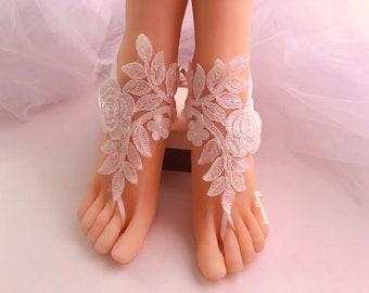 950a070d0914a Ivory lace sandals