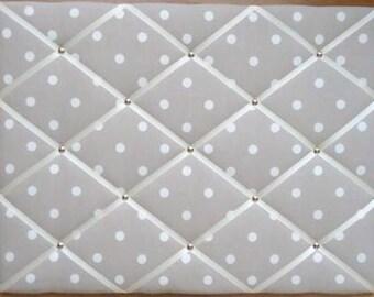Cath Kidston Stone Spot Notice Large Board/Memo Board - Free P&P