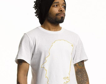 PKUS Parkour Longline T Shirt in White