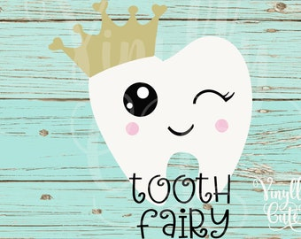 "SVG - "" Tooth Fairy ""- Digital File Only - svg , png , jpg - Tooth - SVG Tooth Fairy Princess"