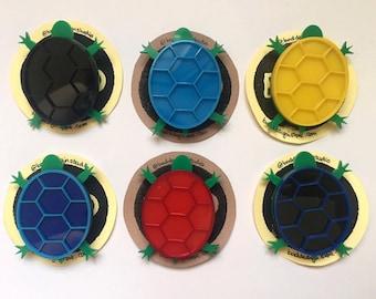 Trundling Tortoise Badge