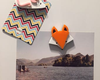 Animal magnets: Feisty Fox, Bad Badger and Mischievous Mouse, Perky Penguin, Sleepy Sloth