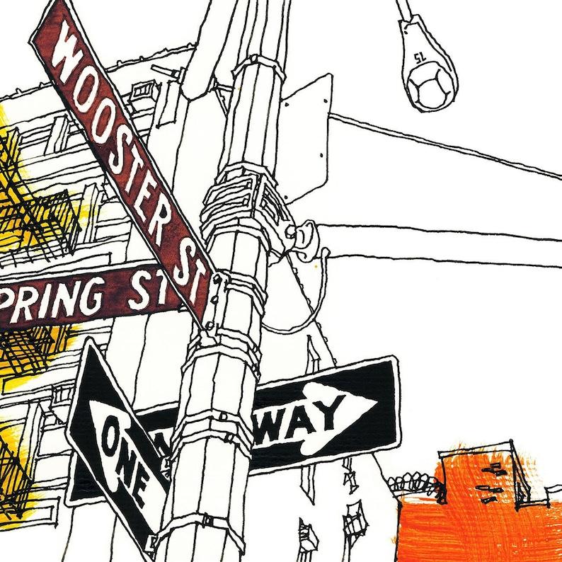 NEW YORK 03 SoHo Manhattan Wooster Street Spring Street image 0