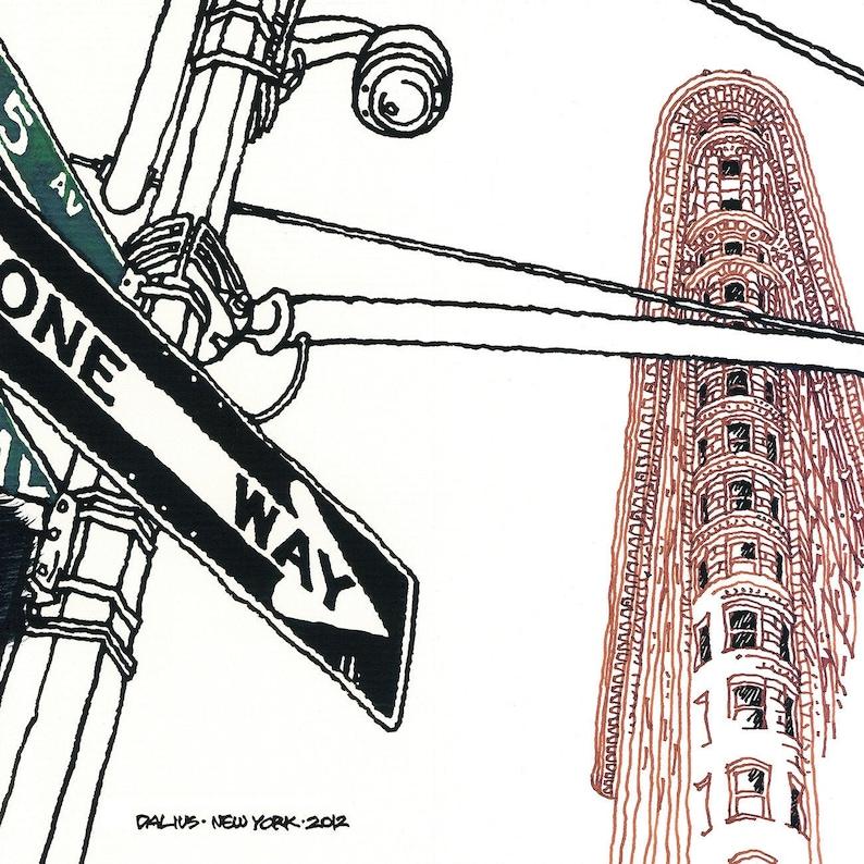 NEW YORK 01 Flatiron Building 5thAvenue &Broadway One image 0