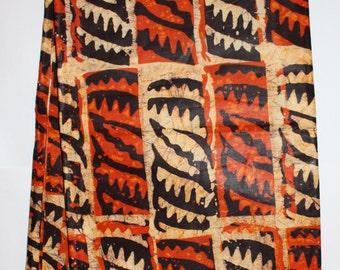 African print fabric, Batik, African Wax Print, Tribal, African Ankara, African Material, sold by the yard