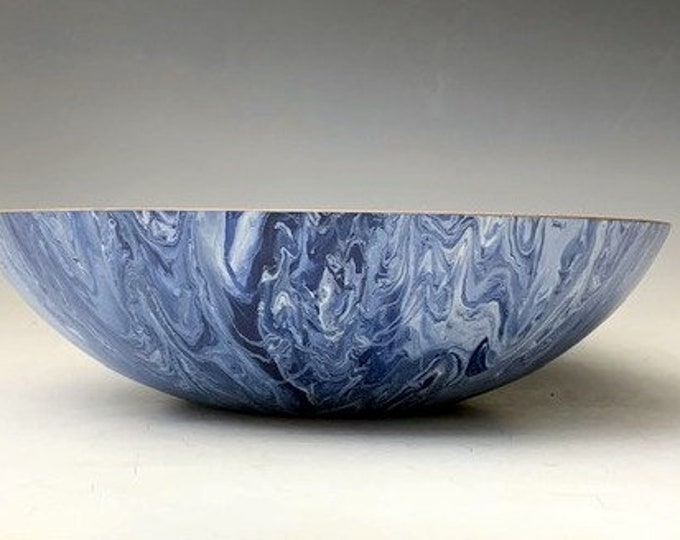 Silver Maple  Bowl - with Decorative Art