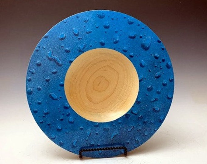 Maple Wood Raindrop Platter/Bowl - Decorative Art