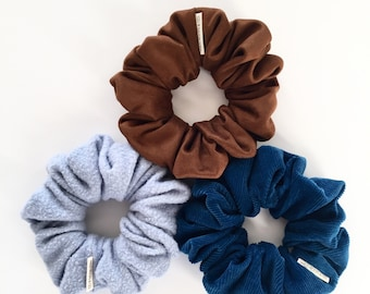 Scrunchie, hair tie, bridesmaid gift, accessory, elastic, hair accessories,suede, corduroy, sweater, soft, classic,soft, hair, hair jewelry