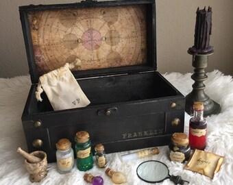 Magic Potions Kit / Mini Potions Set / Personalized Box