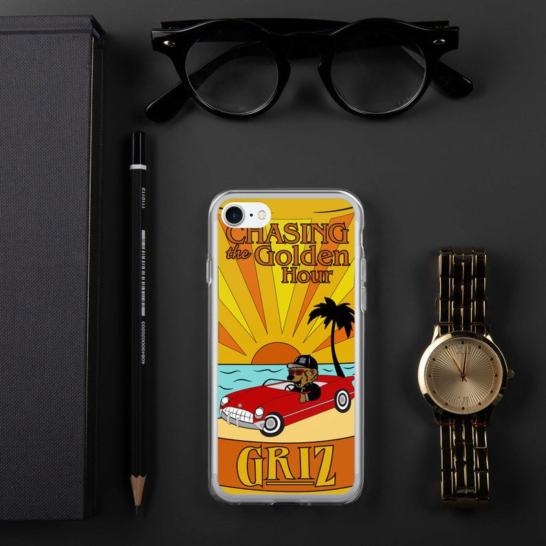 GRiZ Chasing the Golden Hour iPhone Case