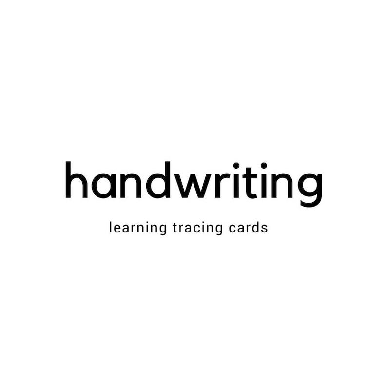 Let's Play School Handwriting Pack  Preschool and image 0
