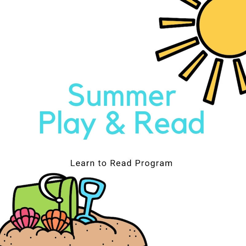 Summer Play & Read  Learn to Read Phonics Program image 0