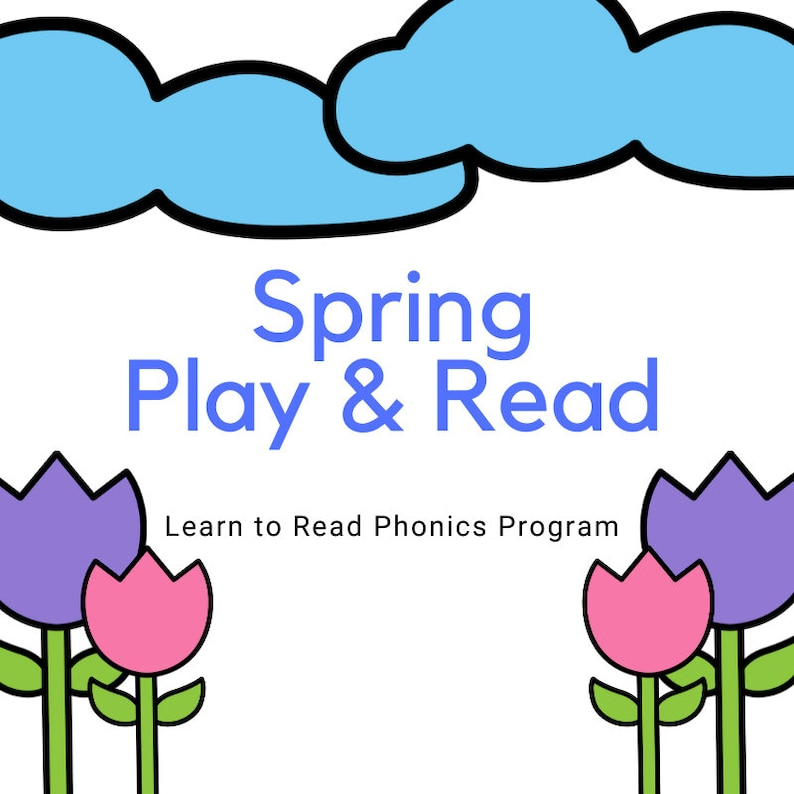 Spring Play & Read  Learn to Read Phonics Program image 0