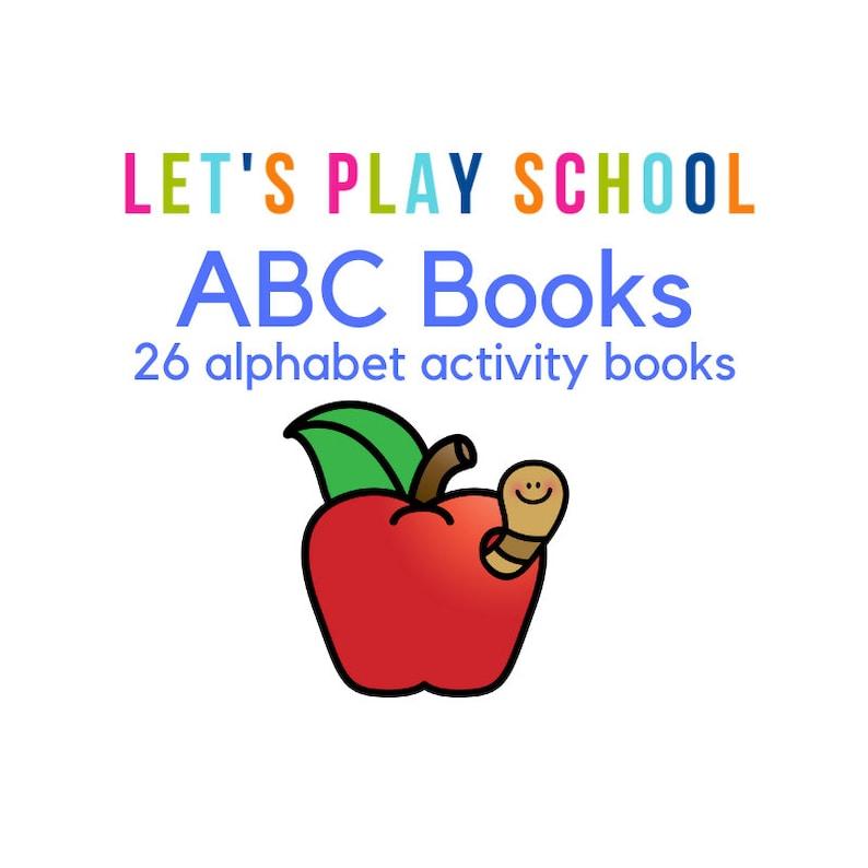 ABC Books  Alphabet Activity Books image 0