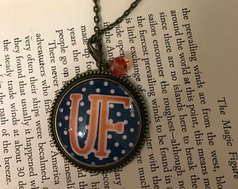 University of Florida Gators Vintage Inspired Necklace