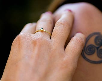 Thin Gold Ring, Thin Ring, Simple Gold Ring, Minimalist Ring, Simple Ring, Dainty Ring, Dainty Gold Ring, Delicate Ring, Gold Stackable Ring