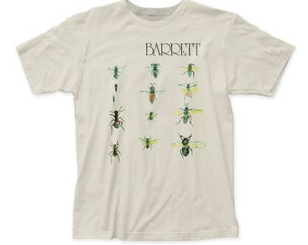 Syd Barrett Men/'s Fairies Poster T-Shirt