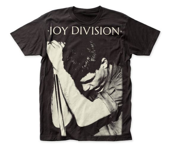 JOY DIVISION T-shirt UK Ian Curtis Post Punk Rock Adult Mens Tee Black New