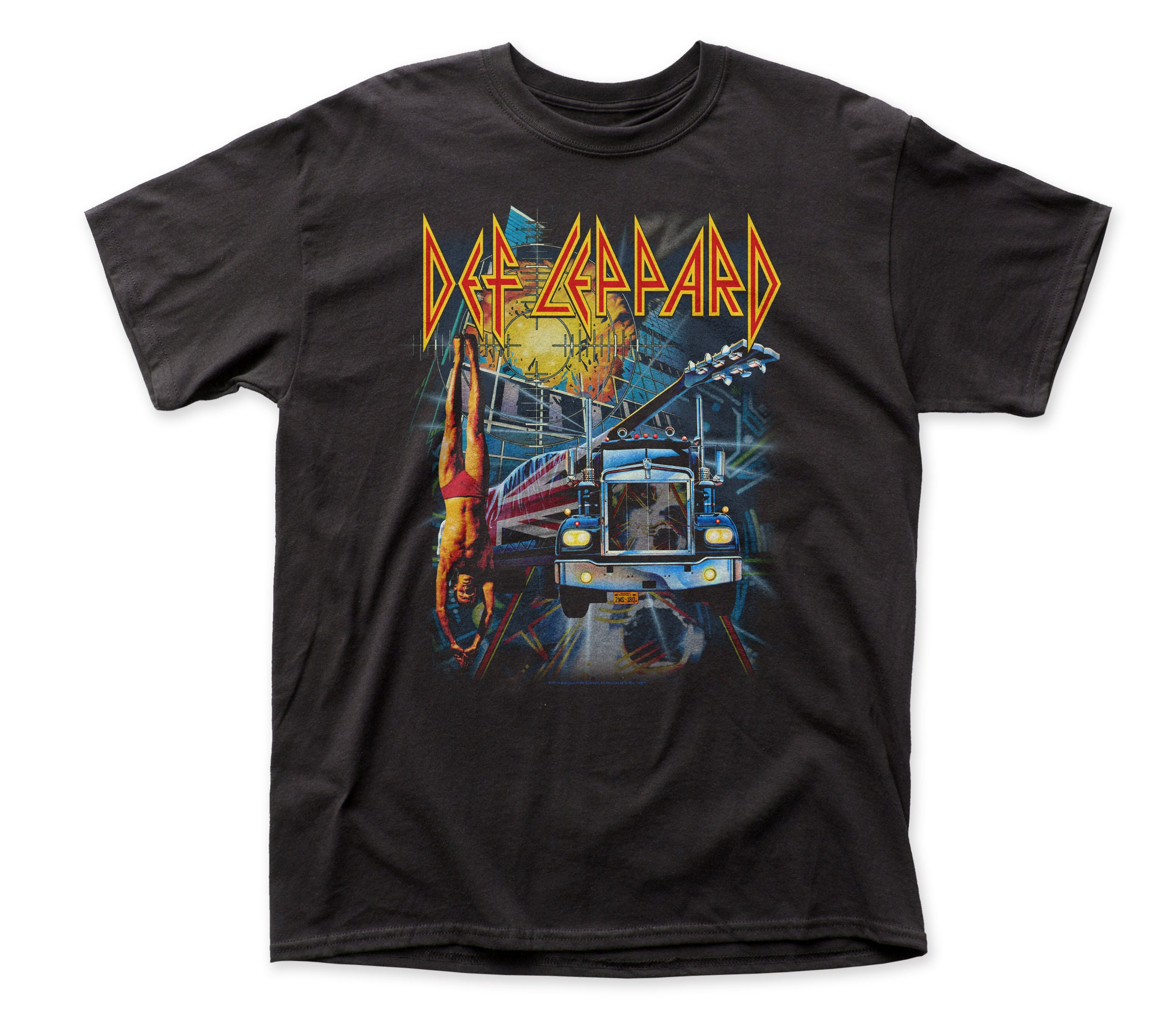 Def Leppard Boxset T-shirt for men - Small only