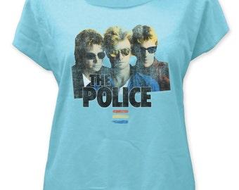 Police Synchronicity Women's Dolman Tee - POLDOL01(Blue)