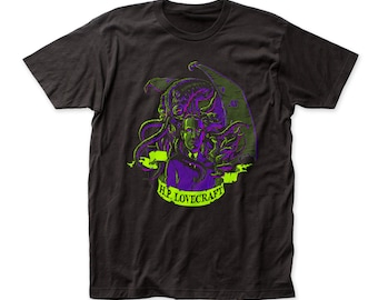 Impact Original H.P. Lovecraft Cthulhu fitted jersey tee (IMP125)