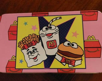 McDonald's Pencil and Crayon Box