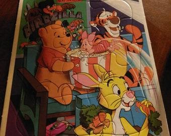 Disney's Winnie the Pooh Frame Tray Puzzle