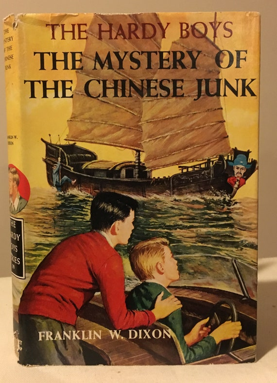 The Hardy Boys - The Mystery of the Chinese Junk by Franklin W Dixon in  Dust Jacket