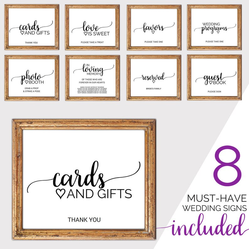 photograph about Printable Wedding Signs identified as Printable Marriage Signs and symptoms Fastened: Rustic Playing cards and Items Signal, Wedding day Memorial Signal, Marriage ceremony Software package Signal, Image Booth Indicator, Reserved Signal K008