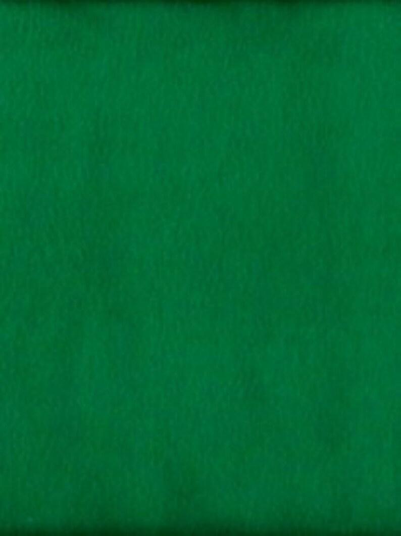 POLAR FLEECE FABRIC SOLID KELLY GREEN ANTI-PILL BTY