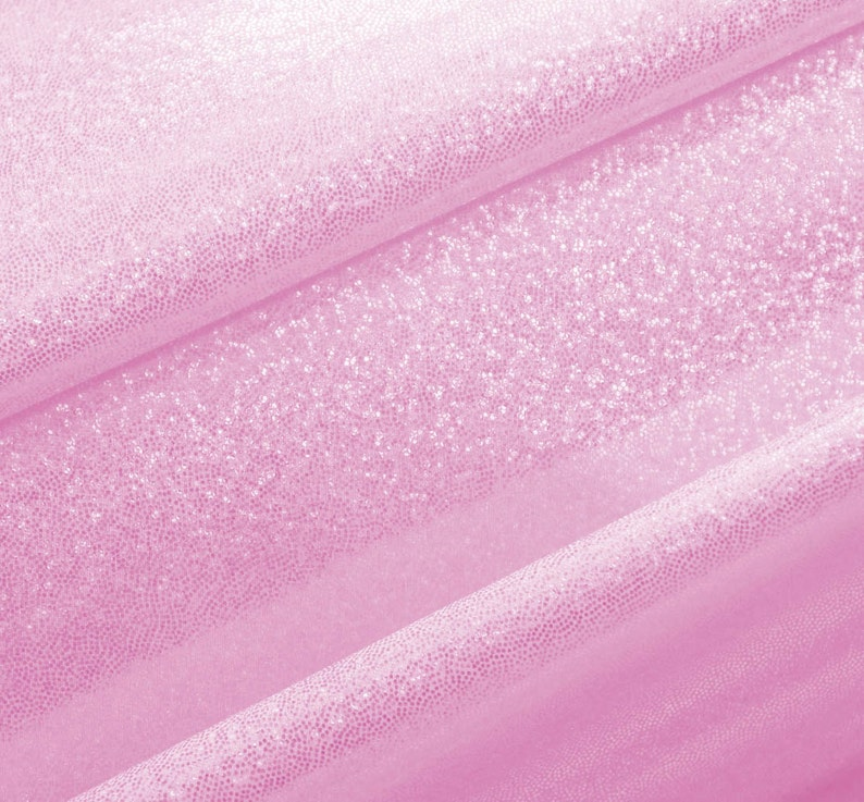 b1c1dd52286b9 Mystique Hologram Fabric Light Pink Color by the yard Z3