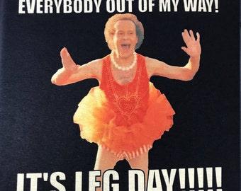 IT'S LEG DAY!!!!! Richard Simmons T-shirt