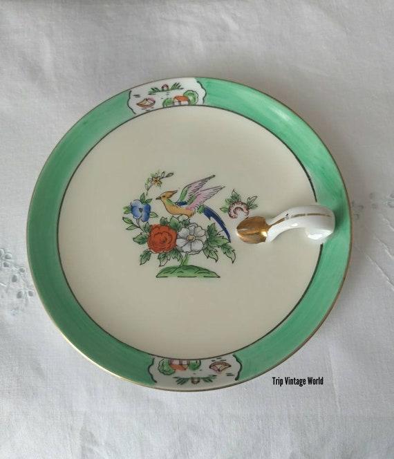 VINTAGE Ten Small Serving Plates